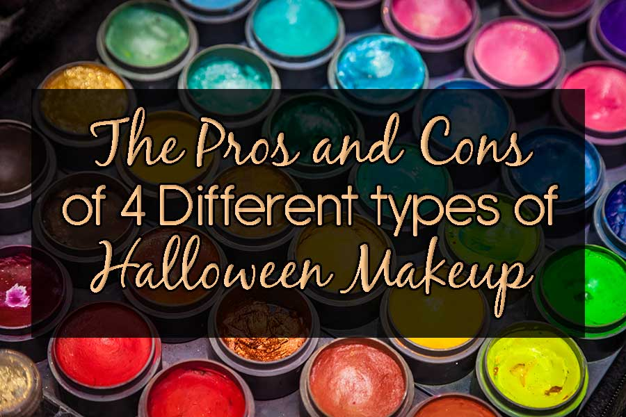 The Pros and Cons of 4 Different Types of Halloween Makeup ...