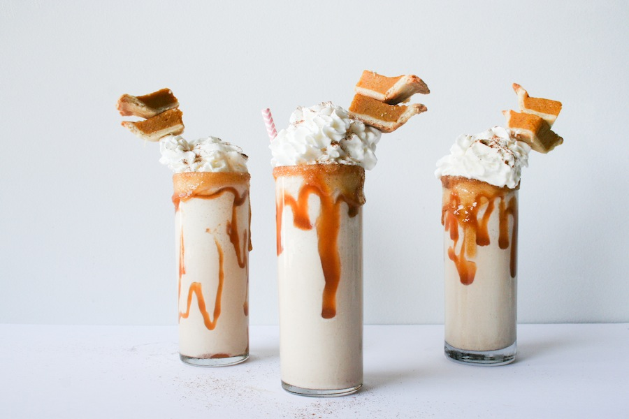 in a place where the cool weather hasn't hit yet, these milkshakes ...