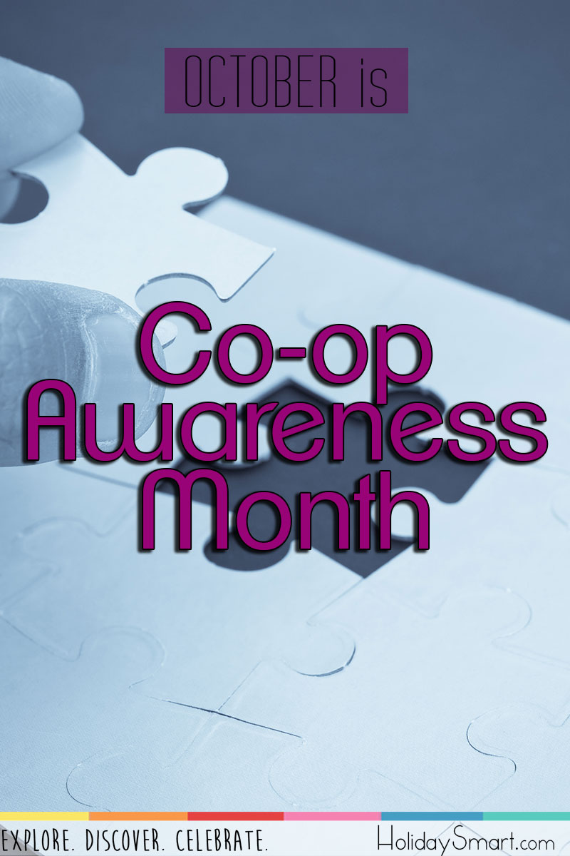 Co Op Awareness Month Holidaysmart