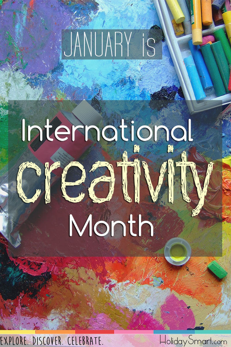 International Creativity Month Holidaysmart