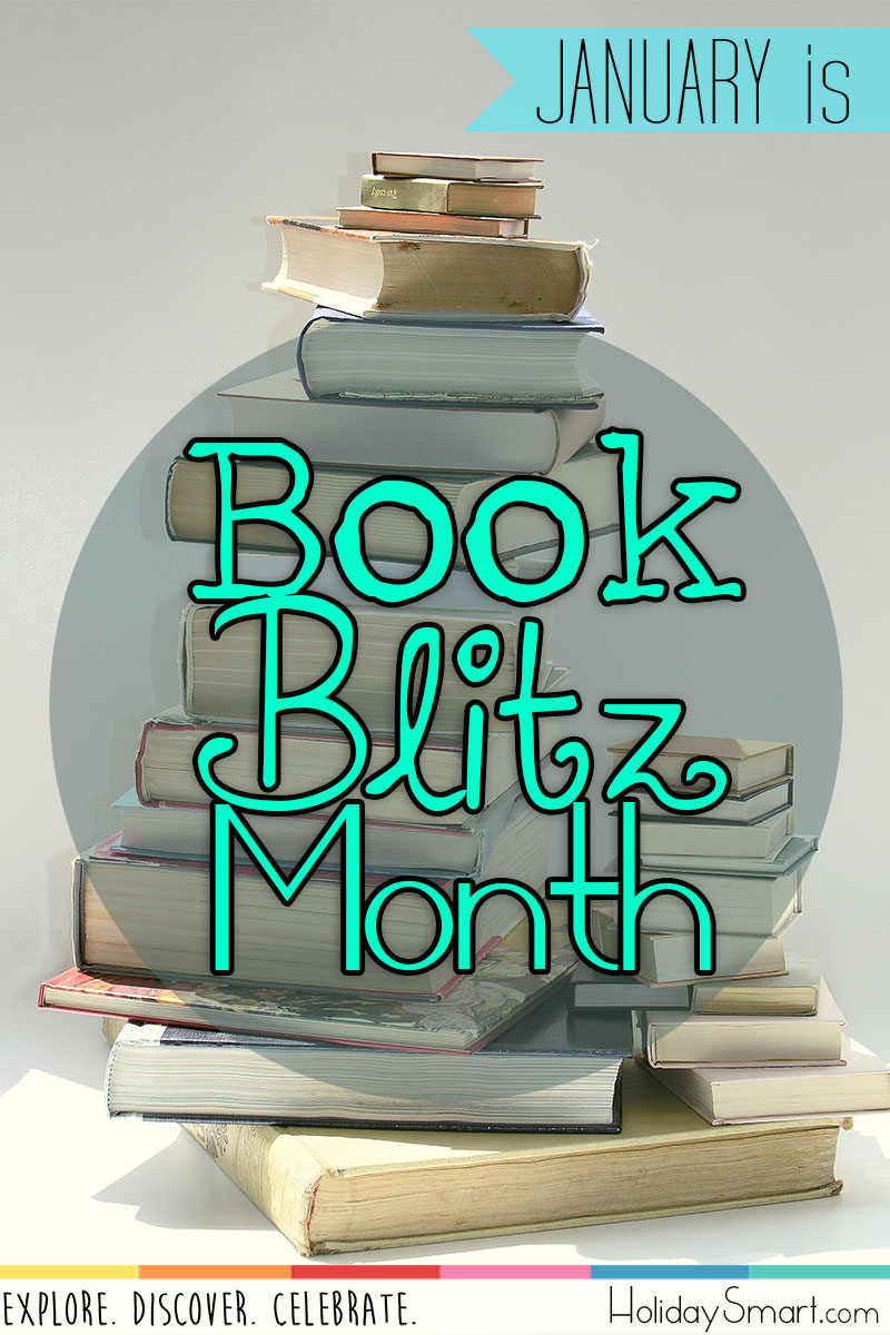 January is Book Blitz Month
