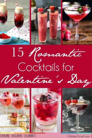 15 Romantic Cocktails for Valentine's Day