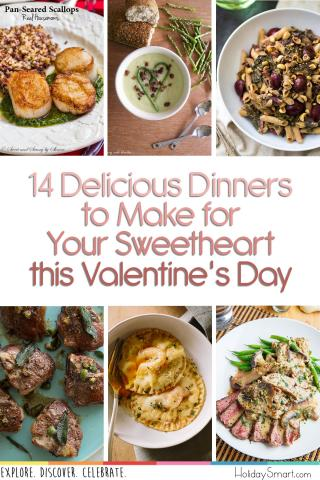 14 Delicious Dinners to Make for Your Sweetheart this Valentine's Day
