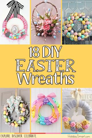 18 DIY Easter Wreaths