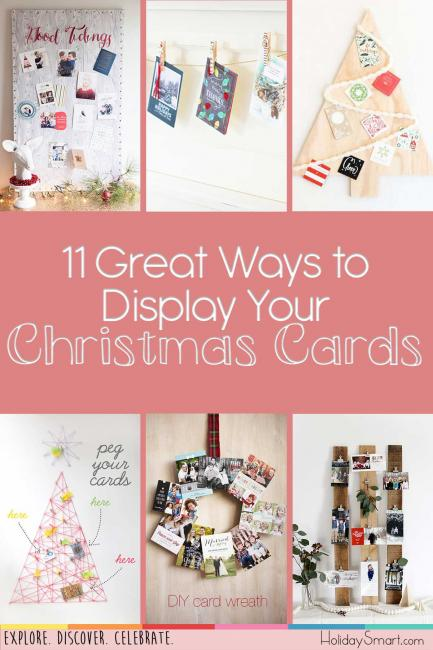 11 Great Ways to Display Your Christmas Cards