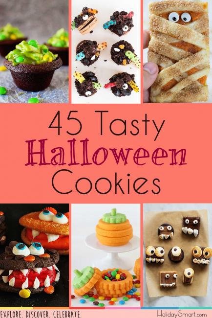 45 Tasty Halloween Cookies