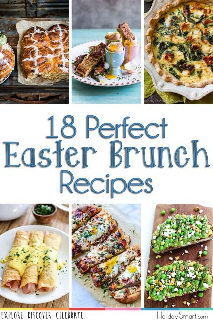 18 Perfect Easter Brunch Recipes