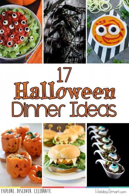 17 Halloween Dinner Ideas