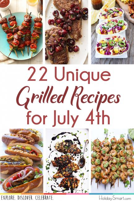22 Unique Grilled Recipes for July 4th