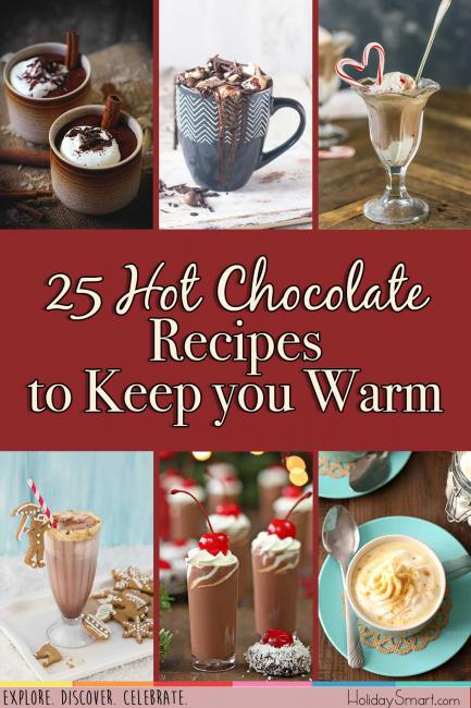 25 Hot Chocolate Recipes to Keep you Warm