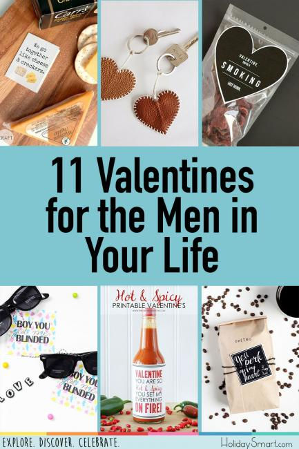 11 Valentines for the Men in Your Life