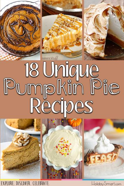 18 Unique Pumpkin Pie Recipes