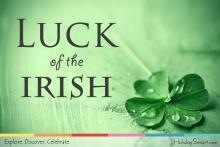 St. Patrick's Day Luck of the Irish