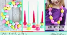11 DIY Easter Projects Using Plastic Eggs