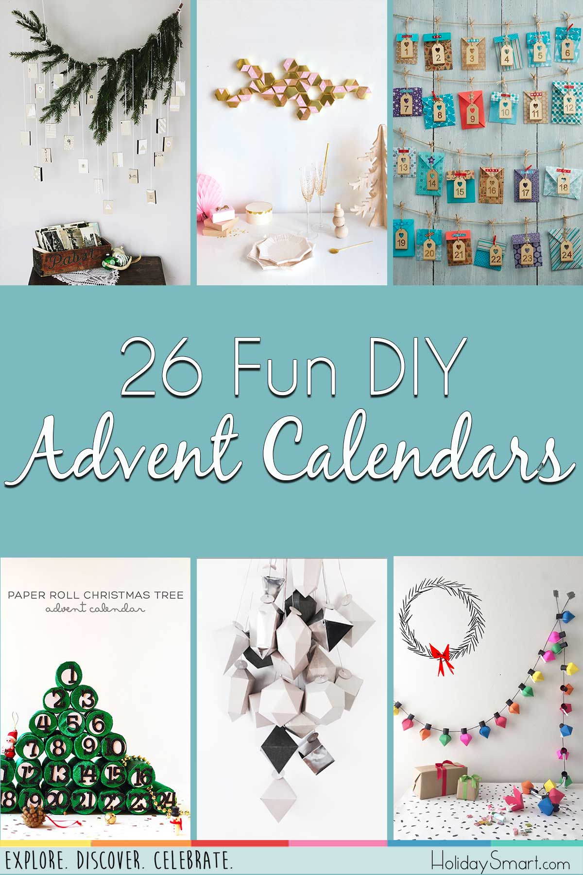 26 Fun DIY Advent Calendars