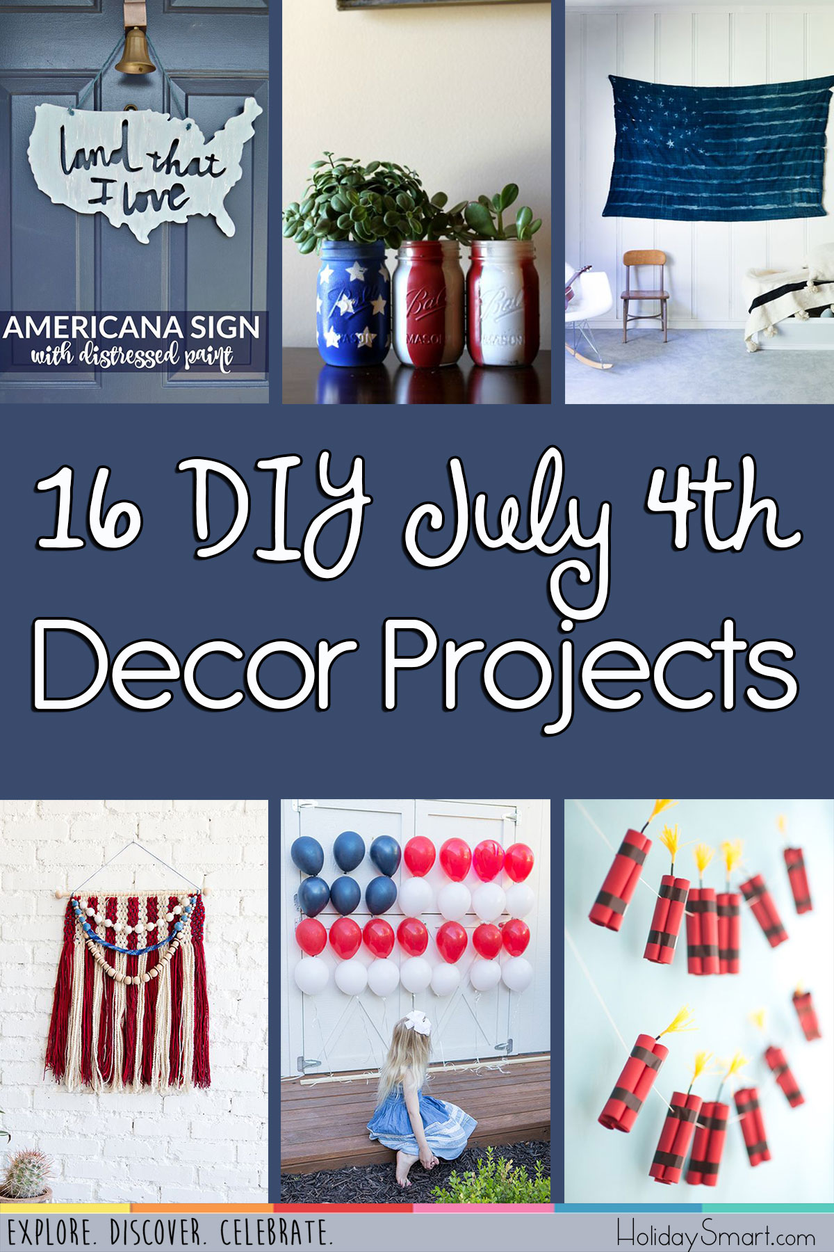 16 DIY July 4th Decor Projects