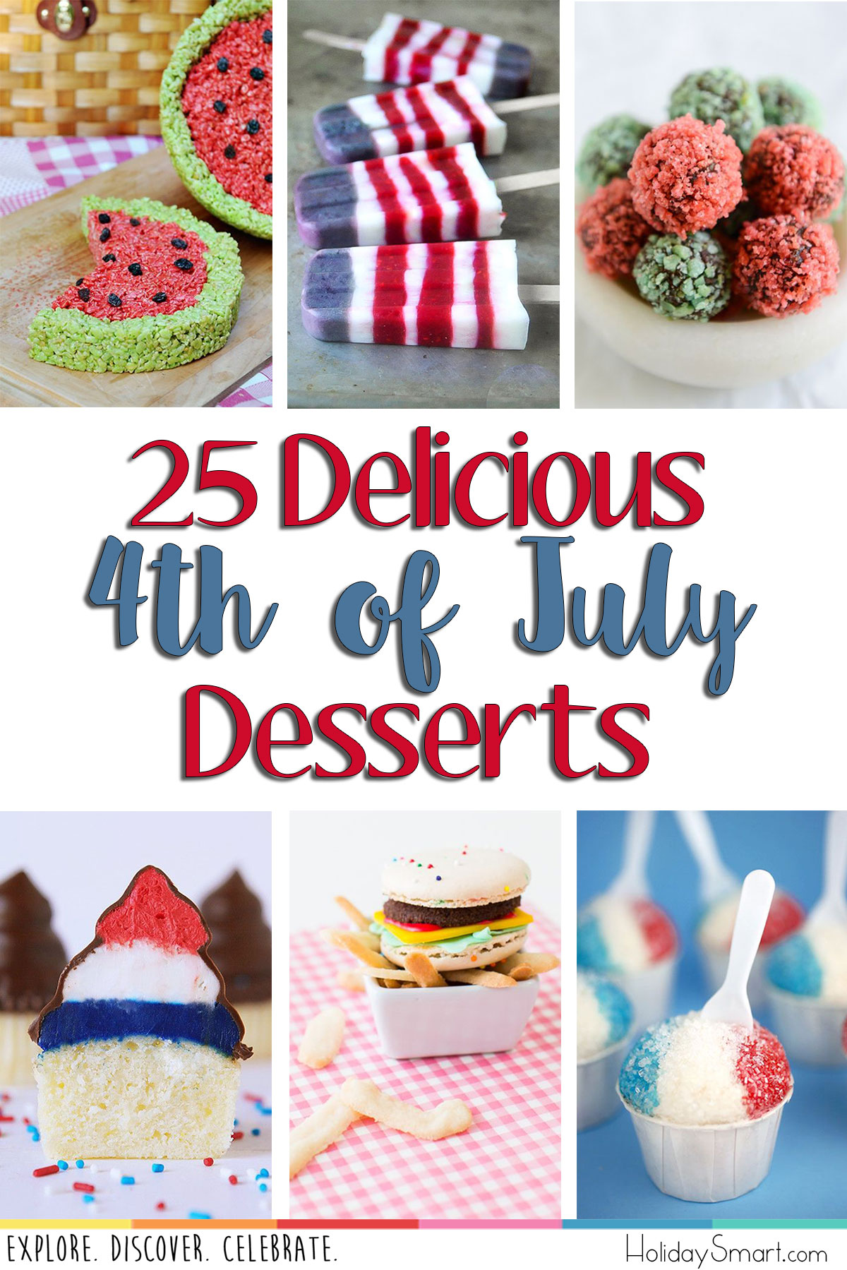 25 Delicious 4th of July Desserts