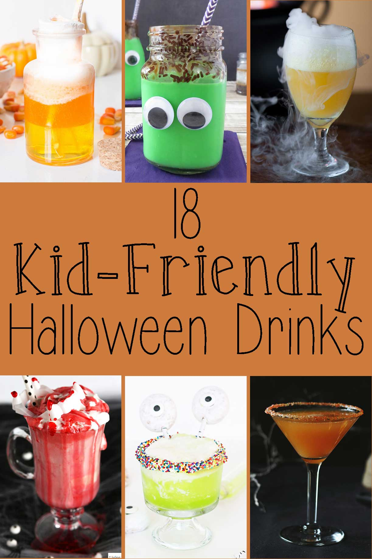 18 Kid-Friendly Halloween Drinks