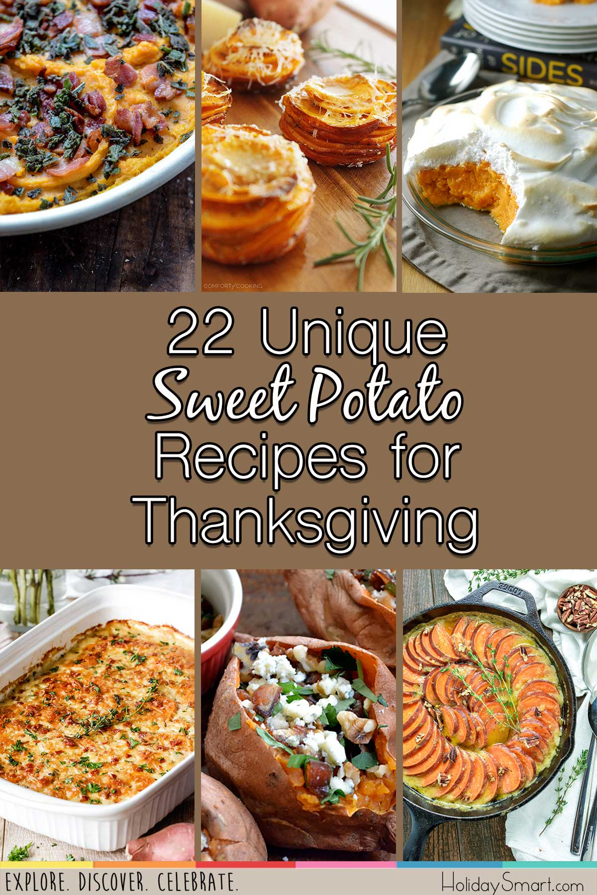 22 Unique Sweet Potato Recipes for Thanksgiving