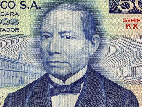 Benito Juarez's Birthday Memorial