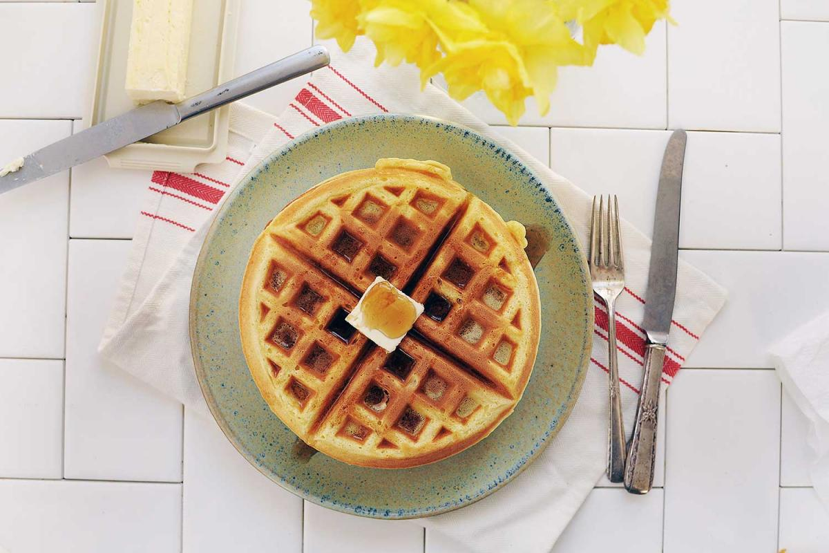 Oatmeal Nut Waffles Day