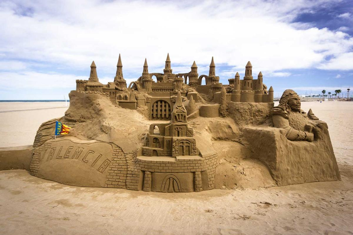 Build a Sandcastle Day