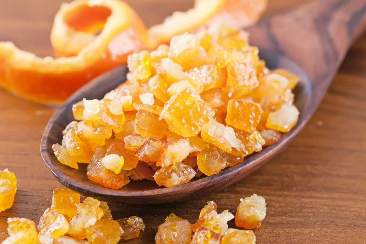 Candied Orange Peel Day
