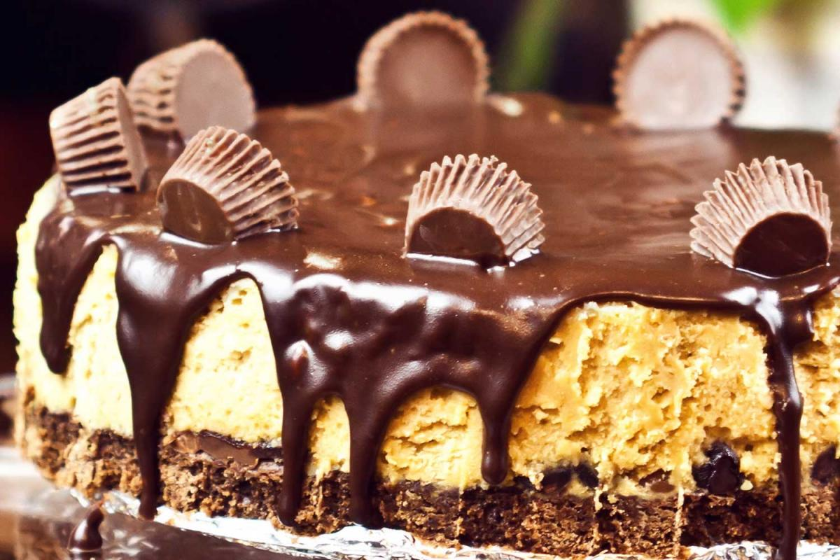 Peanut Butter Cup Cheesecake Day