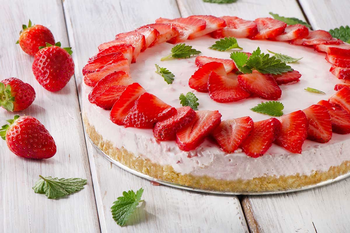 Strawberry Cheesecake Day
