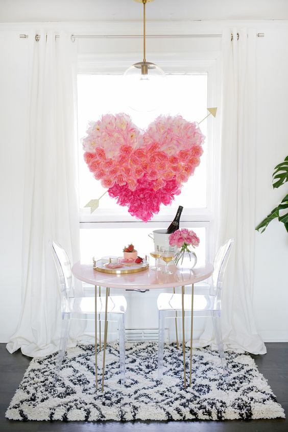 18 DIY Valentine's Day Decorations for your House