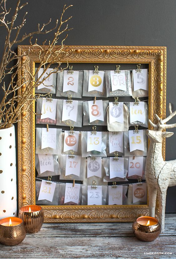 Diy Calendar Michaels : Fun diy advent calendars holidaysmart