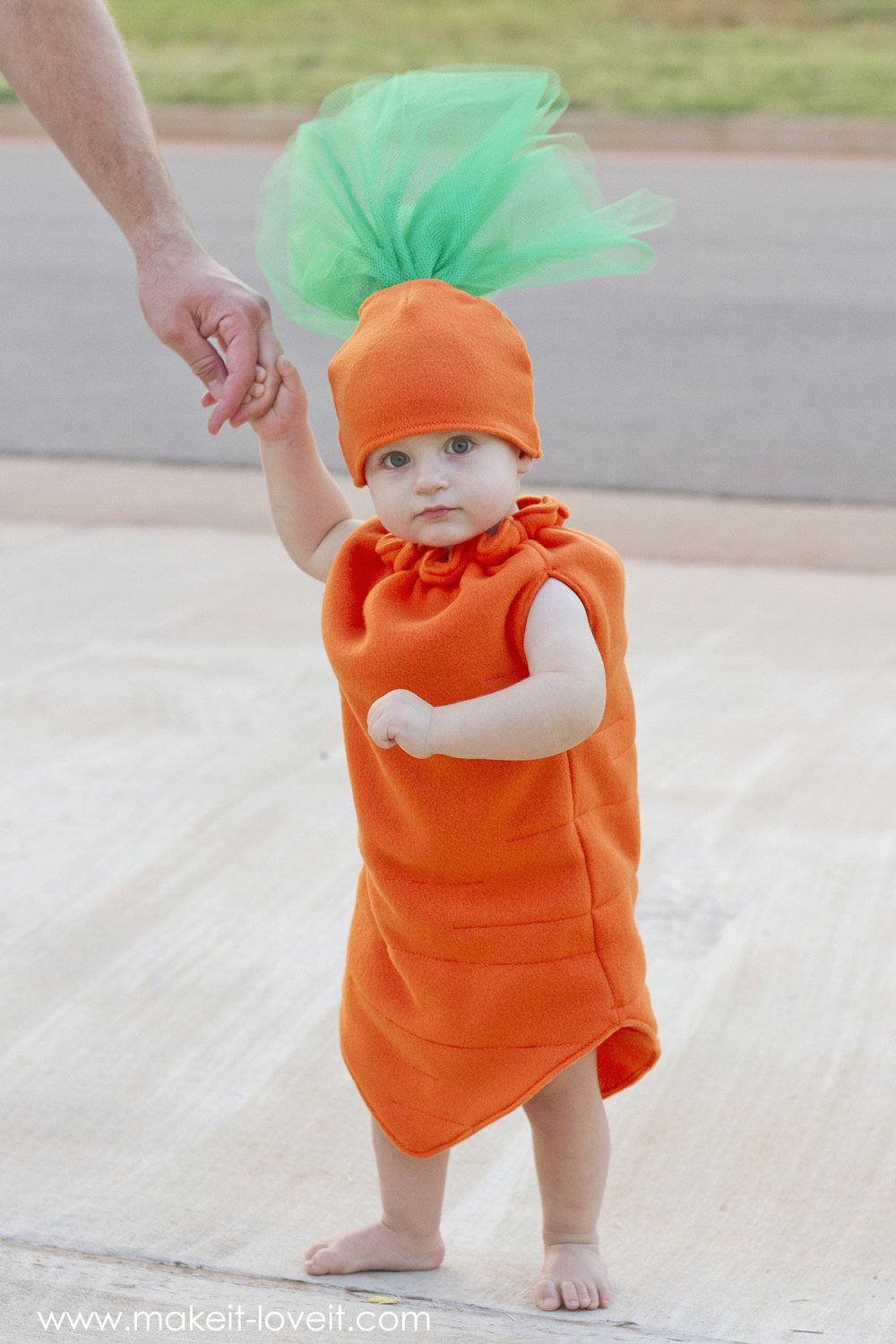Carrot Halloween costume