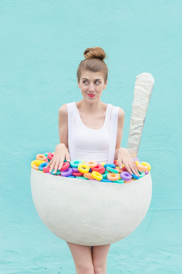 Cereal bowl costume