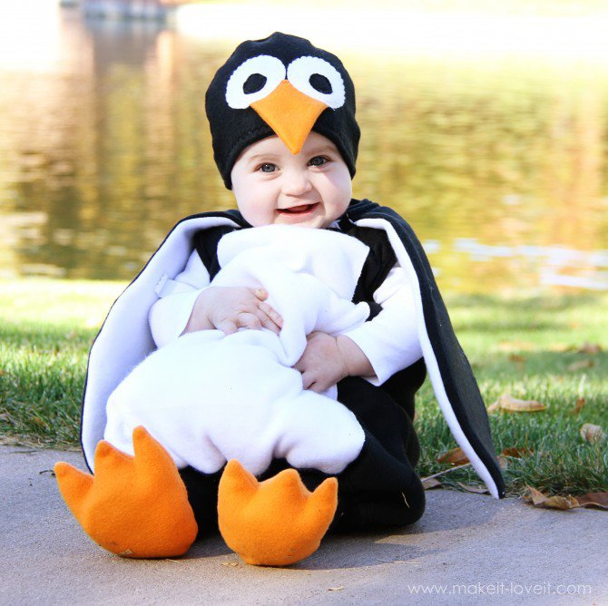 11 Adorable Diy Baby Costumes For Halloween Holiday Smart