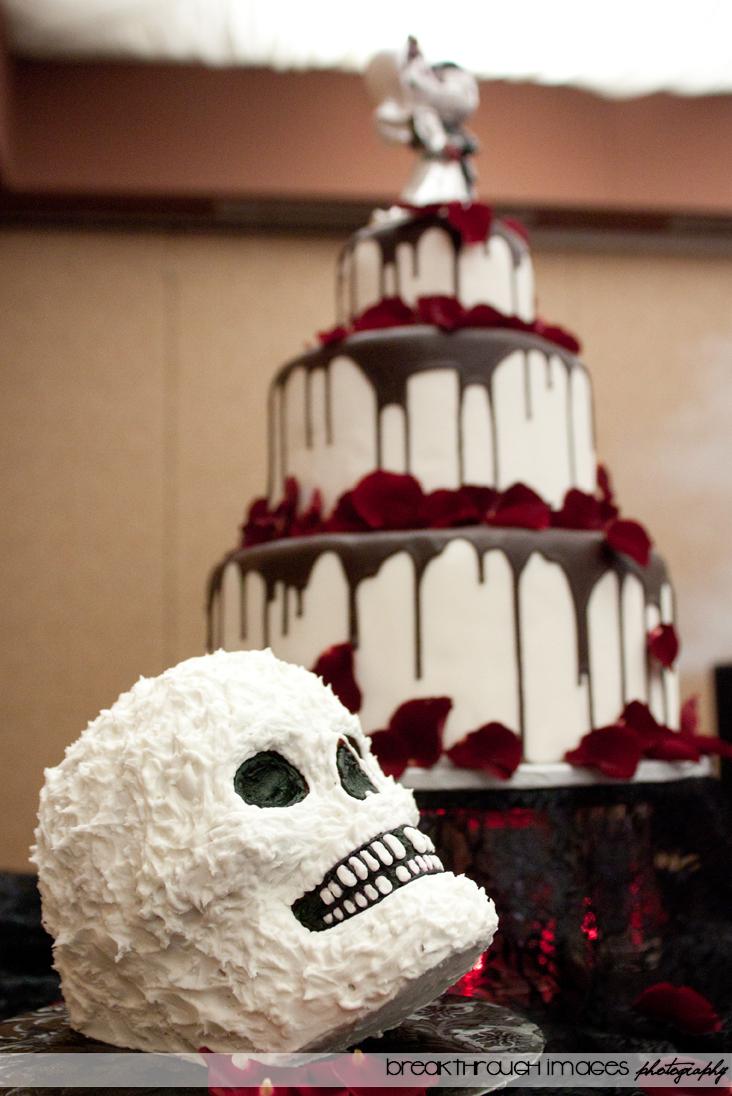 Creepy Birthday Cake Topper