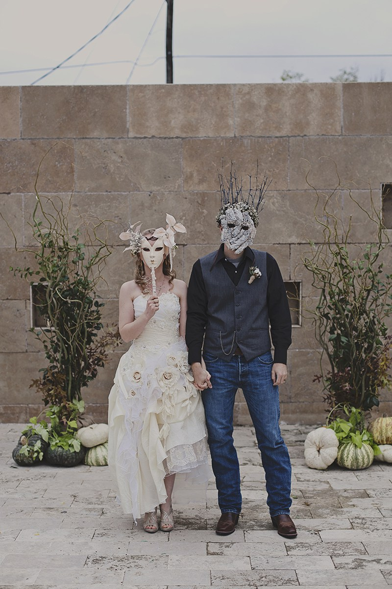 wedding dress masks