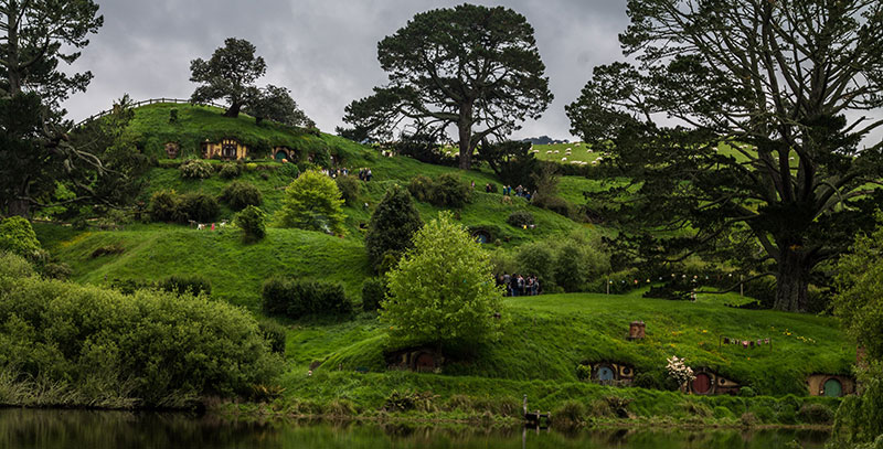 Hobbit Day in New Zealand on the Movie Set