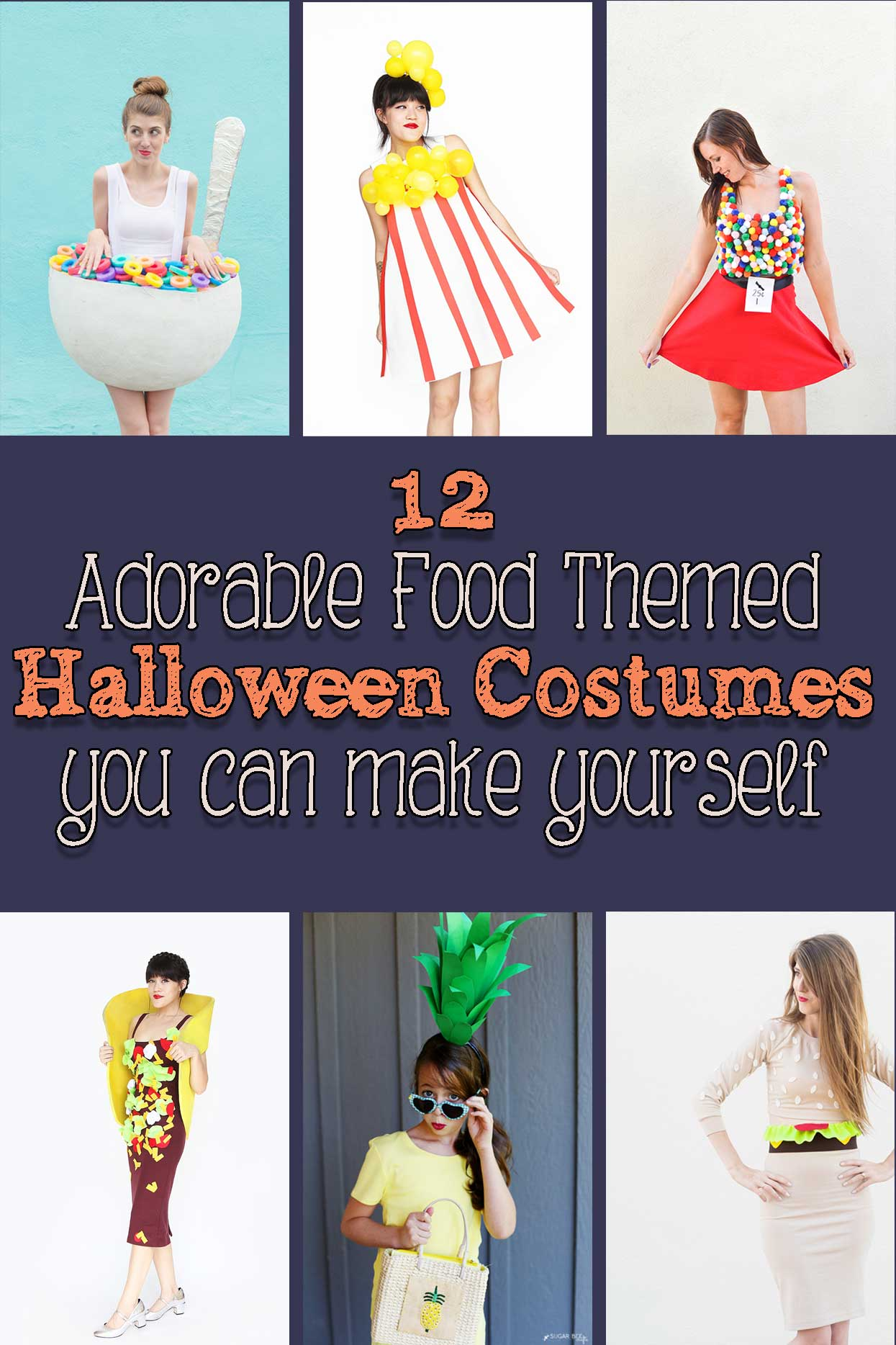 Food halloween costumes