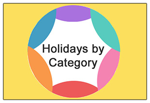 Holidays by Category