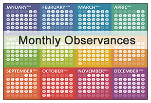 Monthly Observances