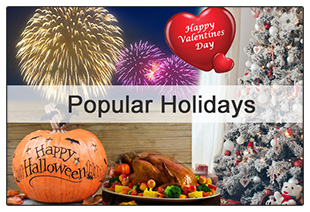 Popular US Holidays