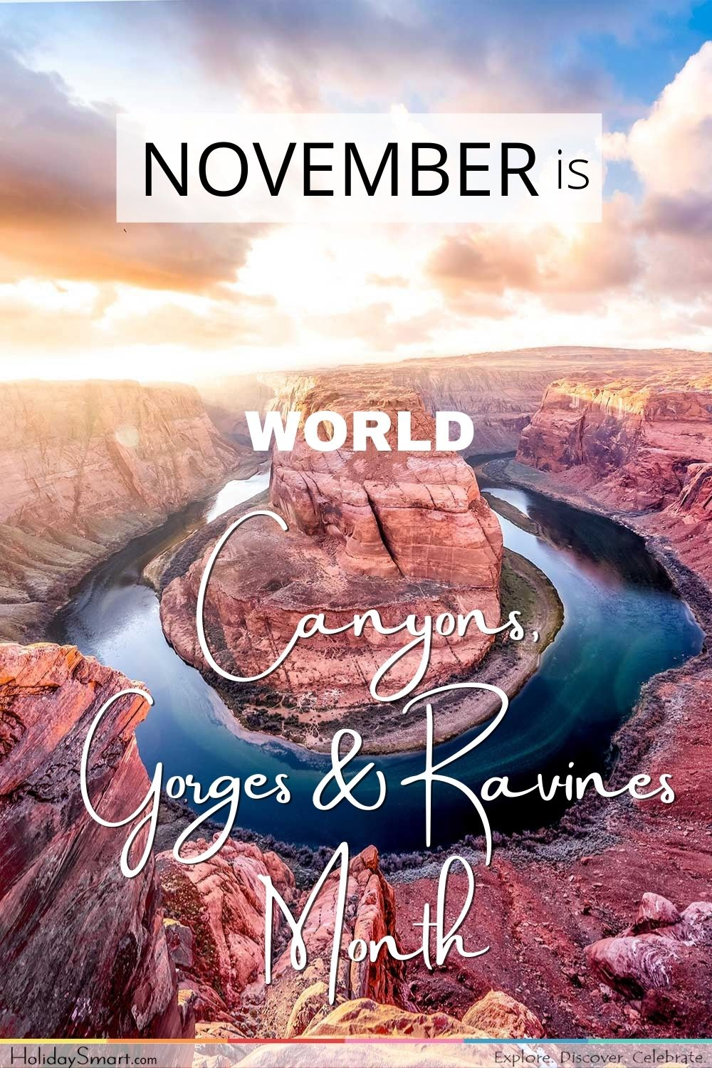 World Canyons, Gorges & Ravines Month