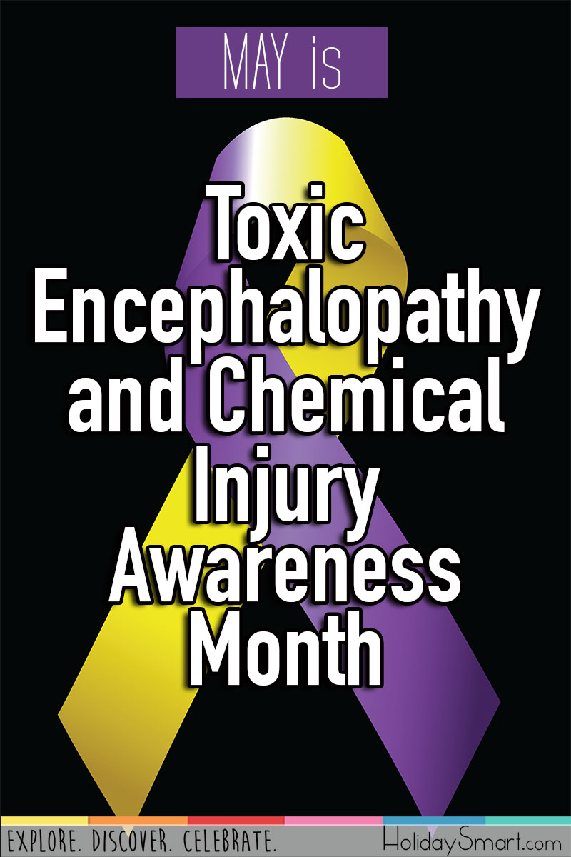 May is Toxic Encephalopathy and Chemical Injury Awareness Month