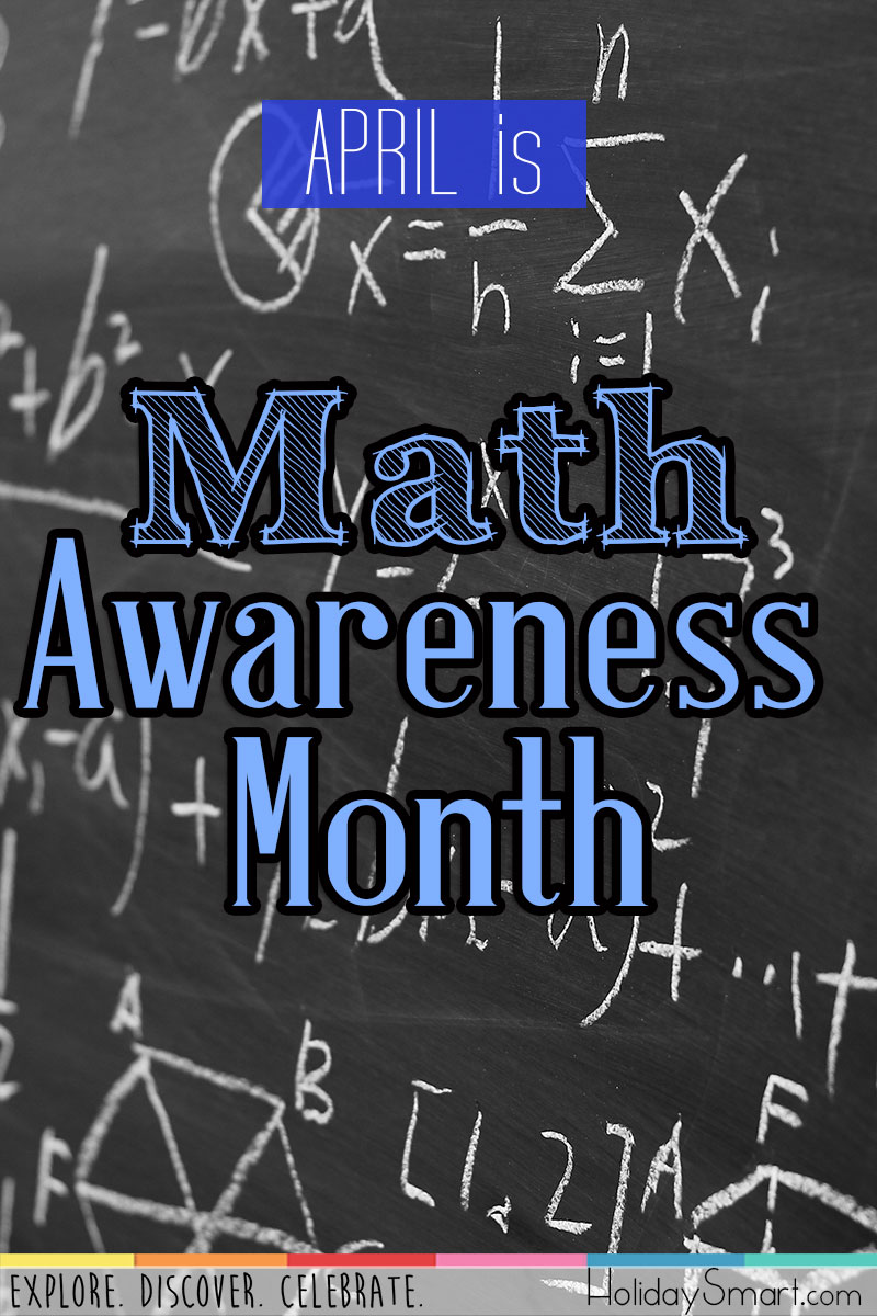 Math Awareness Month Holidaysmart