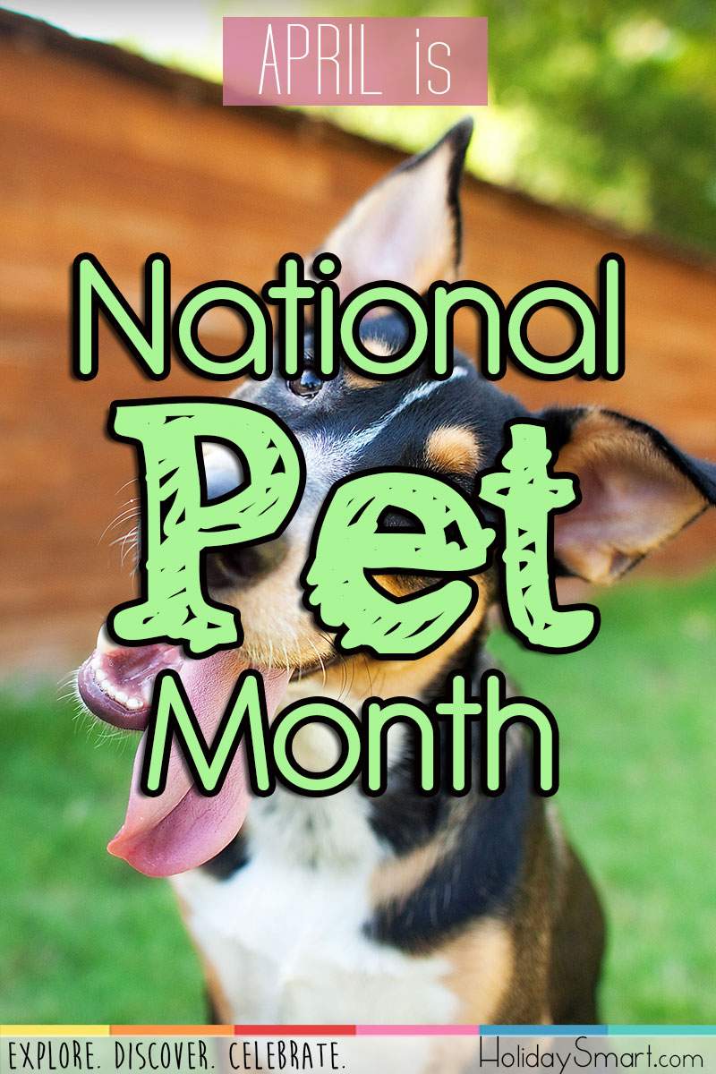 April is National Pet Month