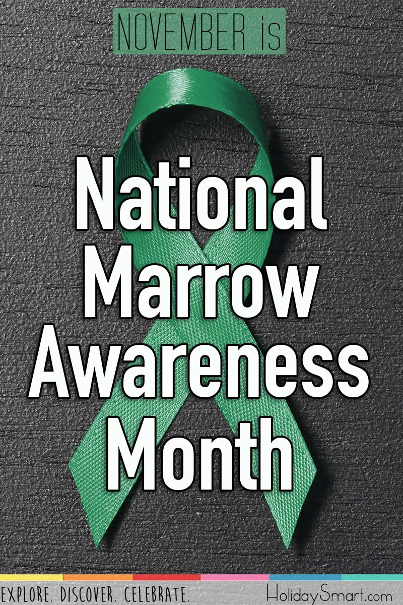 November is National Marrow Awareness Month