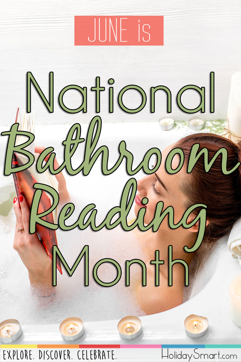 June is National Bathroom Reading Month