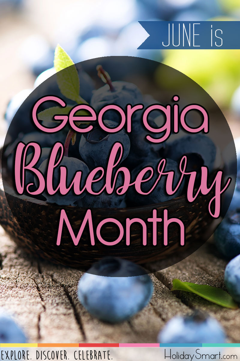 Georgia Blueberry Month Holidaysmart