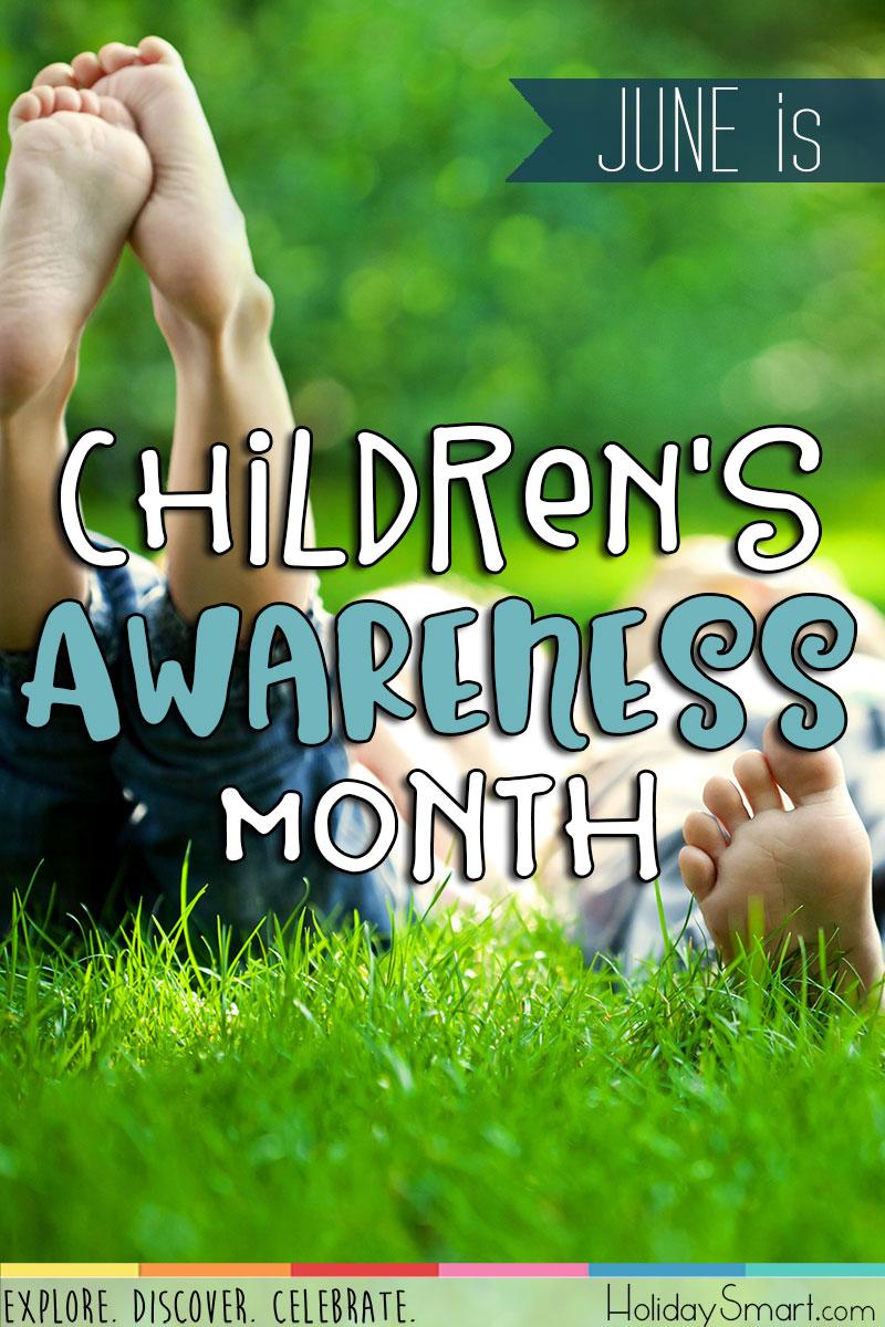 Children S Awareness Month Holidaysmart