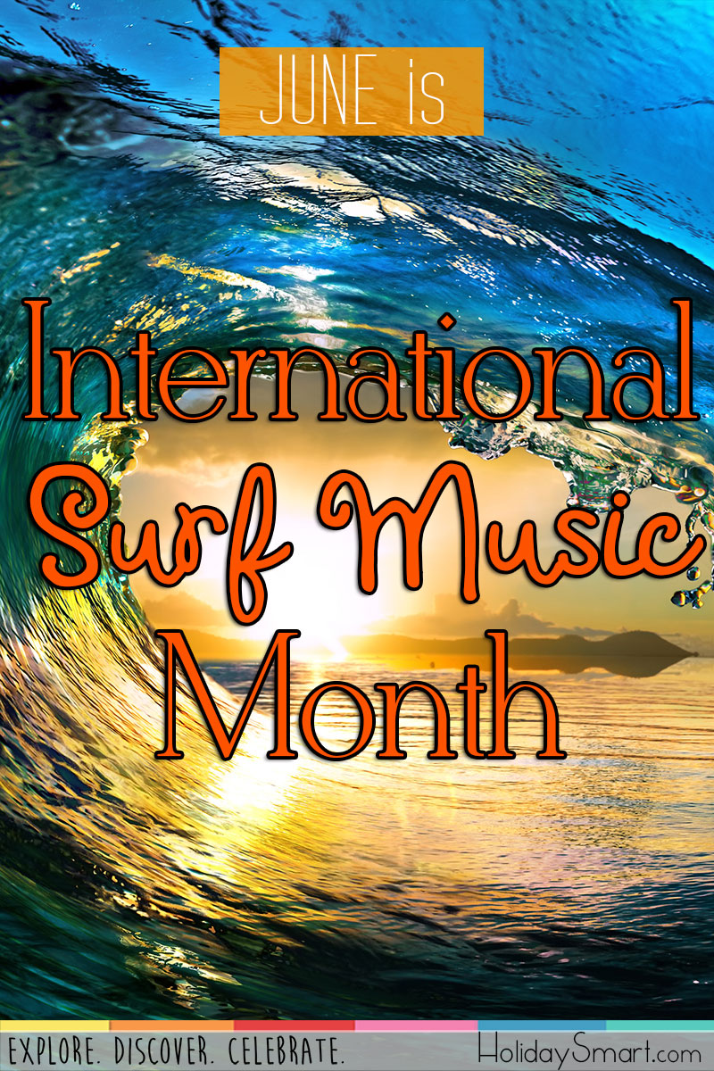June is International Surf Music Month